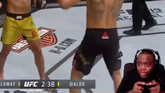Twitch Streamer Pretends UFC Event Is a Video Game