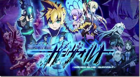 Mega Man Developer Working on New Side-Scroller: Azure Striker Gunvolt