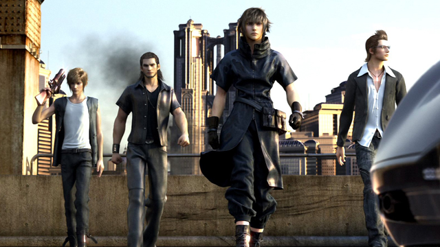Why I'm OK with Final Fantasy XV's Bro-Tastic Cast
