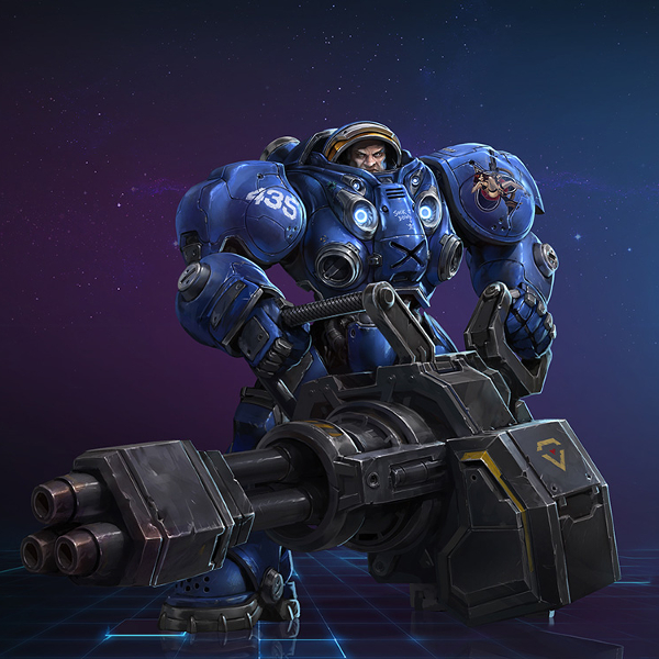 Heroes of the Storm- Tychus Spotlight Unveiled.jpg