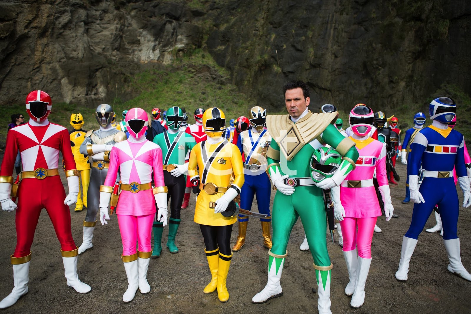 Guess What? There's Going to Be a New Power Rangers Game!