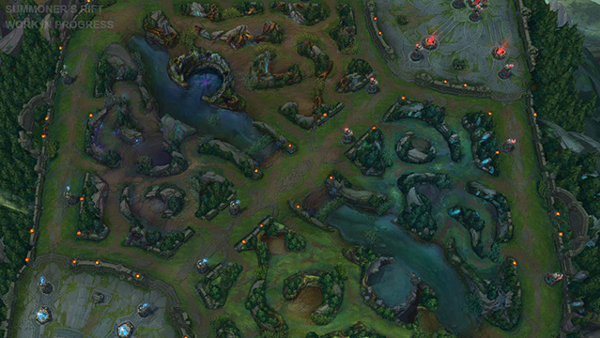Summoner's Rift League of Legends Visual Update LoL