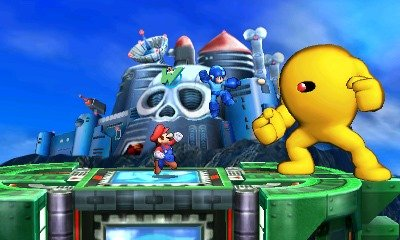 Sakurai Announces Mega Man Stage for Smash Bros. 3DS