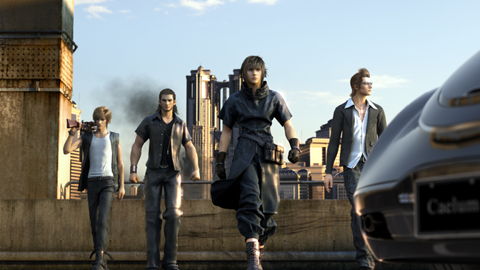 FFXV Is a Sausage Fest and That's Okay