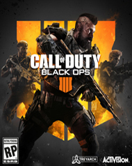 Call of Duty: Black Ops 4 Cover Art