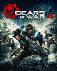 Gears of War 4 Beta Box Art