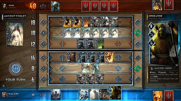 Gwent Hands-On Screenshot