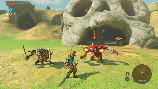 Legend of Zelda: Breath of the Wild Hands-On Screenshot