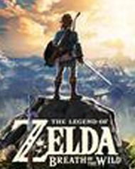 Legend of Zelda: Breath of the Wild Cover Art