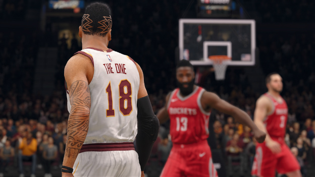 NBA Live 18 Live Event Screenshot
