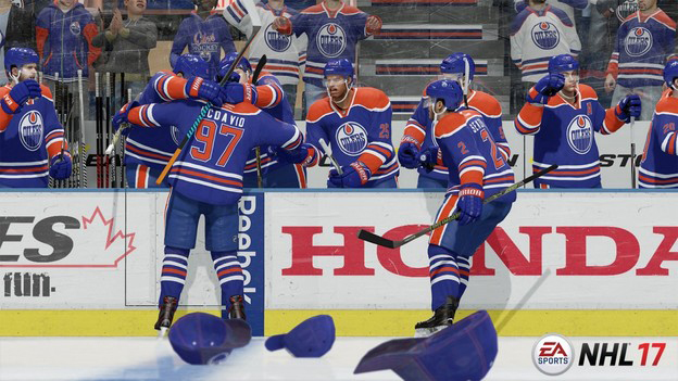 NHL 17 Beta Screenshot