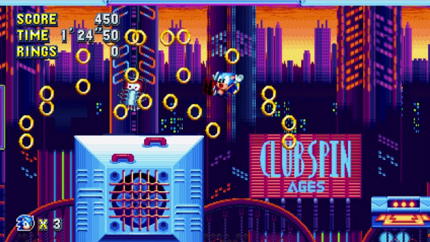 Sonic Mania Screenshot