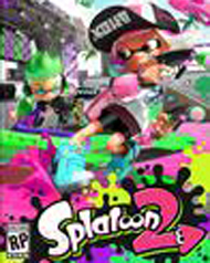 Splatoon 2 Cover Art