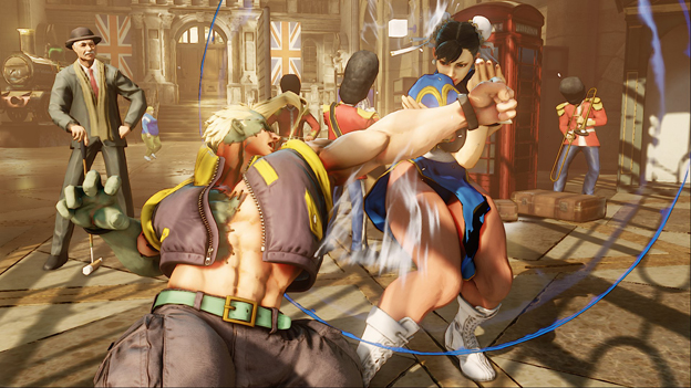 Street Fighter V PS4 Beta Screenshot