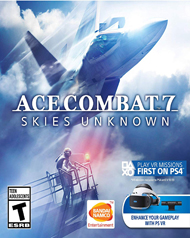 Ace Combat 7: Skies Unknown Cover Art