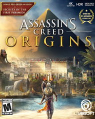 Assassin's Creed: Origins Cover Art