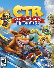 Crash Team Racing: Nitro-Fueled Cover Art