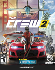 The Crew 2 Cover Art