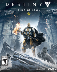 Destiny: Rise of Iron Cover Art