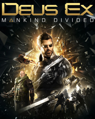 Deus Ex: Mankind Divided Cover Art
