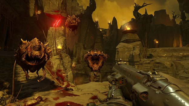 DOOM Screenshot