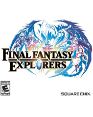 Final Fantasy Explorers Box Art