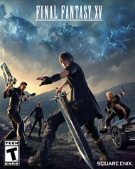 Final Fantasy XV Cover Art