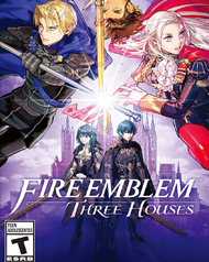 Fire Emblem: Three Houses Cover Art