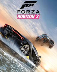 Forza Horizon 3 Cover Art