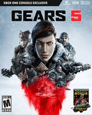 Gears 5 Cover Art