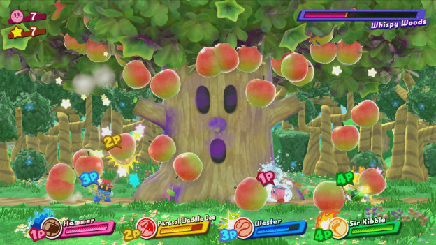 Kirby: Star Allies Screenshot