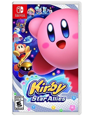 Kirby: Star Allies Cover Art