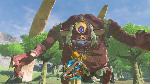 Legend of Zelda: Breath of the Wild Screenshot