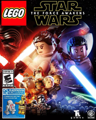 Lego Star Wars: The Force Awakens Cover Art