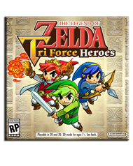 The Legend of Zelda: Tri Force Heroes Box Art