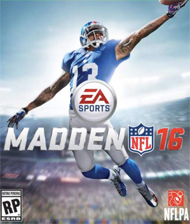 Madden NFL 16 Box Art