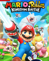 Mario + Rabbids Kingdom Battle Cover Art