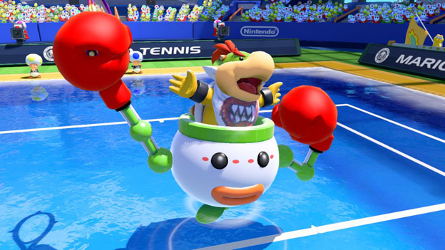 Mario Tennis: Ultra Smash Screenshot
