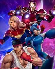 Marvel vs. Capcom: Infinite Cover Art