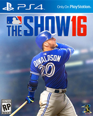 MLB The Show 16 Box Art