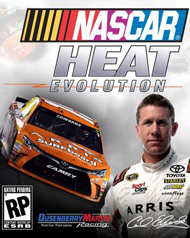 Nascar Heat Evolution Cover Art