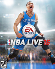 NBA Live 16 Box Art