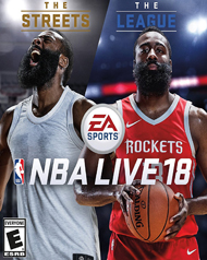 NBA Live 18 Cover Art