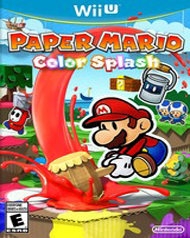 Paper Mario: Color Splash Cover Art