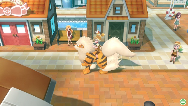 Pokemon: Let's Go, Eevee! Screenshot