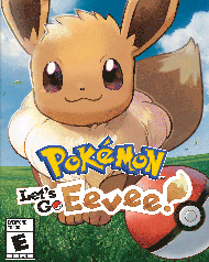 Pokemon: Let's Go, Eevee! Cover Art