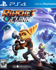 Ratchet & Clank Box Art