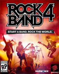 Rock Band 4 Box Art