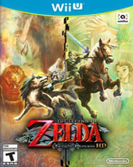 The Legend of Zelda: Twilight Princess HD Box Art
