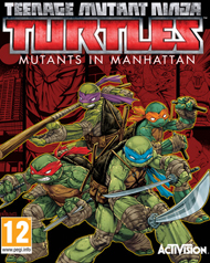 Teenage Mutant Ninja Turtles: Mutants in Manhattan Box Art